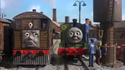Toby Gets Taken Up Behind
