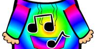 Rainbow Music Notes Hoodie