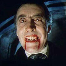 Count Dracula Christopher Lee