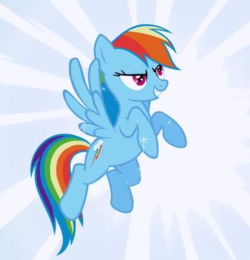 Rainbow Dash Wonderbolt fantasy S1E3