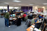 Old jagex office space