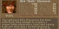 """Kirk """"Static"""" Stevenson"""