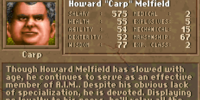 "Howard ""Carp"" Melfield"