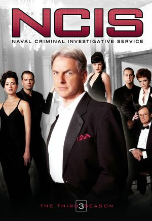 NCIS Season 3 DVD cover