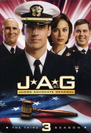 JAG Season 3 DVD cover