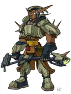 Sig from Jak II concept art