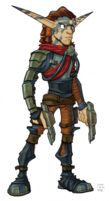 Torn from Jak II concept art