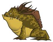 Sewer frog concept art
