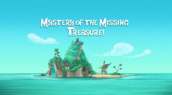 Mystery of the Missing Treasure! titlecard