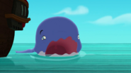 Whale burps