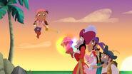 Izzy with Hook&crew-The Never Rainbow