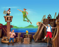 Jake&crew with Peter-Pirate and Princess Adventure