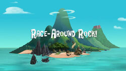 Race-Around Rock titlecard