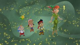 Jake&crew with Peter&Tink - jake's never land rescue02