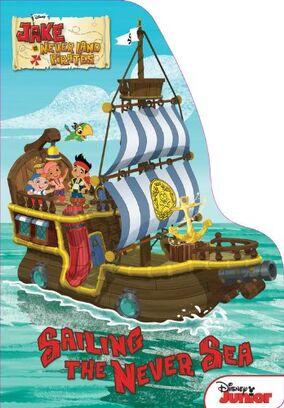 Sailing the Never Sea book