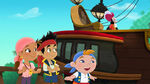 Jake&crew with Hook-Jake Saves Bucky