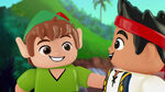 Peter Pan&Jake-The Never Land Pirate Pieces of Eight02