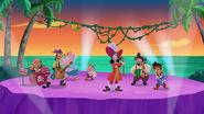 Jake &Hook crew-Pirate Rock