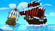Jolly Roger&Bucky-F-F-Frozen Never Land!