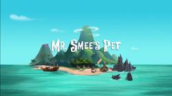 Mr. Smee's Pet