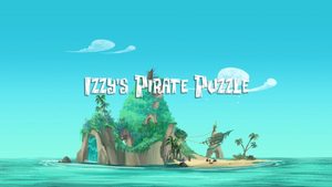 Izzy's Pirate Puzzle titlecard