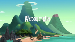 Huddle Up! title card