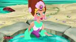 Queen Coralie-sleeping mermaid09