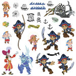 Disney Jr. CAPTAIN JAKE and the NEVERLAND PIRATES wall sticker