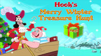 Hook a Merry Winter Treasure Hunt