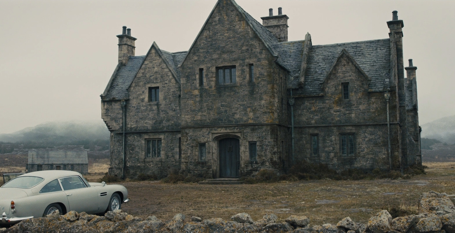 James Bond House skyfall lodge | james bond wiki | fandom poweredwikia