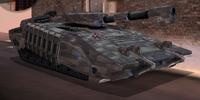 Platinum tank