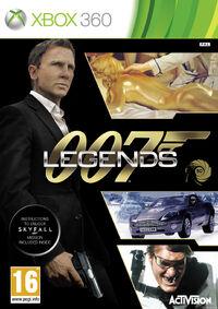007 Legends Xbox 360 box art