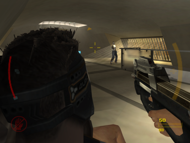 File:HS-90 in game (GoldenEye - Rogue Agent).png