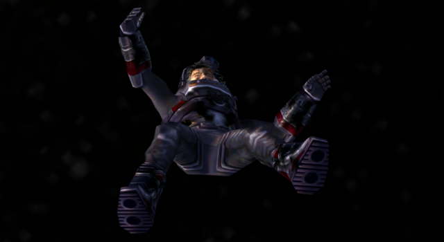 File:Drake's corpse floats away into space (Nightfire, GC).png