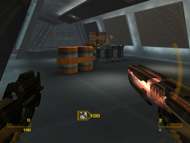 File:GoldenEye mag-rail in use (GoldenEye - Rogue Agent).png