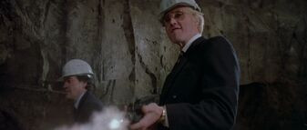 A View to a Kill - Zorin guns down his workers