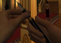 Dart Pen, active (Nightfire, PC)