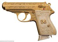 The real golden gun