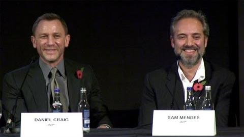 James Bond 'Skyfall' Full Press Conference