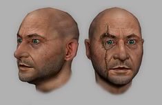 Blofeld head render (GoldenEye - Rogue Agent)