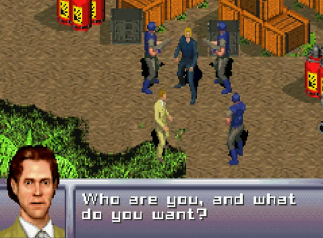 File:003 is caught and questioned (Everything or Nothing, GBA).png