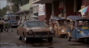 Scaramanga's car