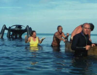 Atlantis model on location (3)