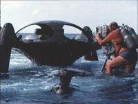Atlantis model on location (2)