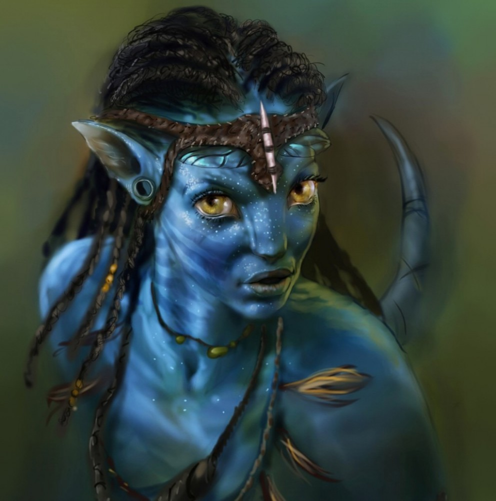 Neytiri Avatar By MrDExArts-e1282586012578