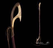 Na'vi Weapon Staff