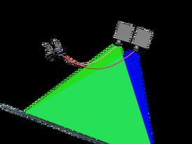 Projector hela above