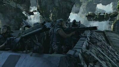 Valkyrie Gun Crew