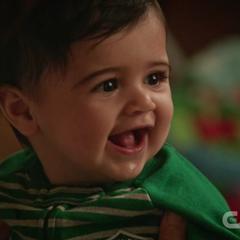 Mateo's first Christmas
