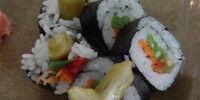 Pickled Okra Sushi Rolls (FutoMaki) by MarisaBaggett